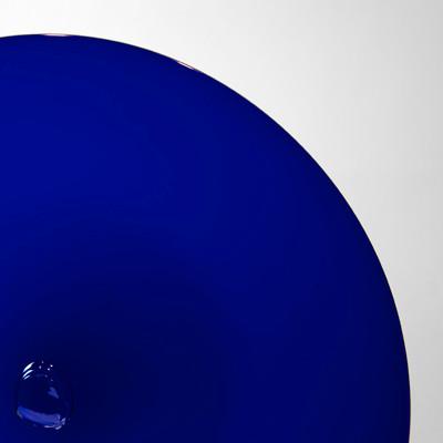 Blown Rondels - 600 Dark Cobalt Blue