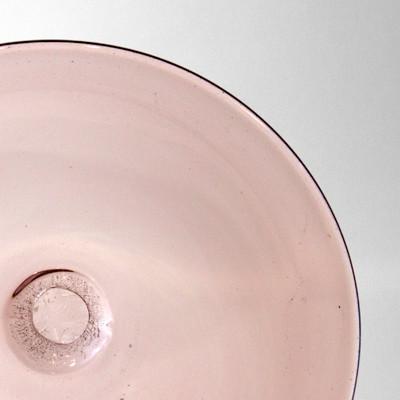 Blown Rondels - 809 (Lightest Plum)