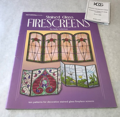 Stained Glass Firescreens by Judy Coleman