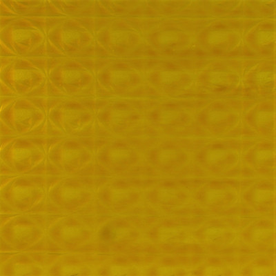 Bee Happy! OB art sheet glass in yellow cathedral rosebud texture