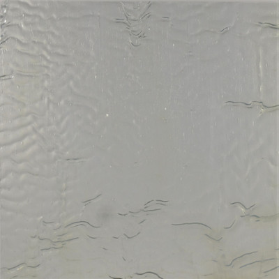 Clouds of Alderaan OB art sheet glass in white, blue, and green ripple texture