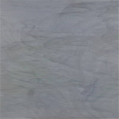 Bespin's Beauty art sheet glass in pale blue, white, and green