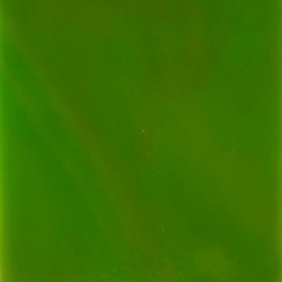Sheet Glass Sample - 101X Lime Green Opalume & Caramel Opalume (23D)