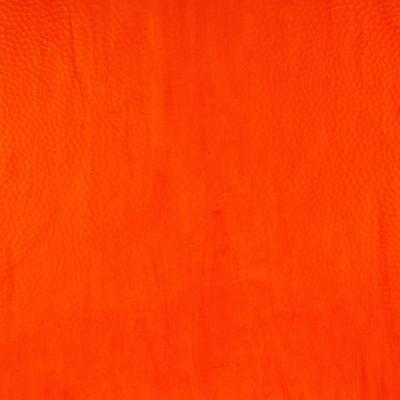 Sheet Glass Sample - 1257LL (Orange) Hammered Texture Shown