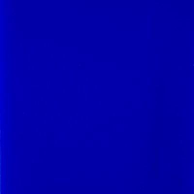 Sheet Glass Sample - 605D (Cobalt Blue Opalume)