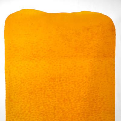 Catspaw Sheet Glass - 18 Medium Amber (Granite Catspaw (GCP) shown)