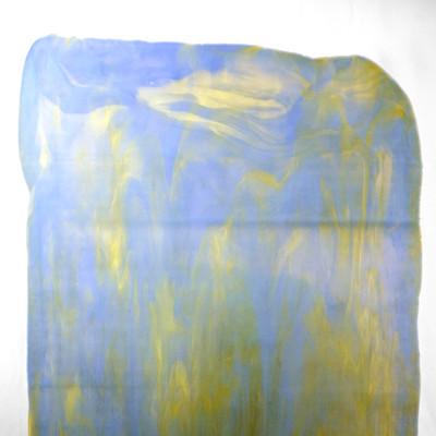 Catspaw Sheet Glass - 39ML (Powder Blue Opalume, Light Amber) (Smooth Catspaw (SCP) shown)