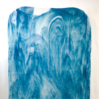 Catspaw Sheet Glass - 4 (Royal Blue, Opal) (Smooth Catspaw SCP shown)