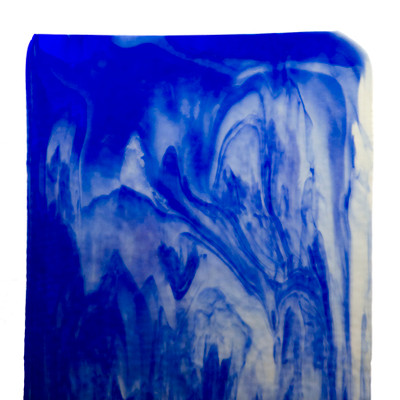 Catspaw Sheet Glass - 4C (Cobalt Blue, Opal) (Granite Catspaw GCP Shown)