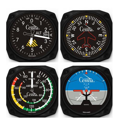 Cessna Classic Instrument Coaster Set