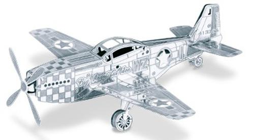 3D Laser Cut Model - P51 Mustang