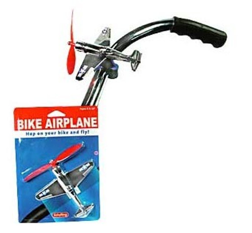 Bike Airplane with Spinning Prop