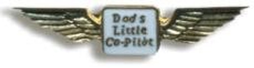 Dad's Co-Pilot Pin