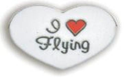 I Love Flying Pin