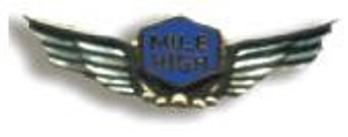 Mile High Wing Pin