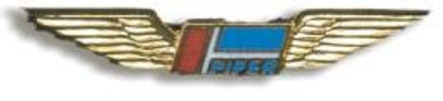 Piper Wings Pin