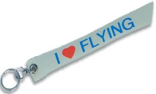 """""""I Love Flying"""" Keychain"""