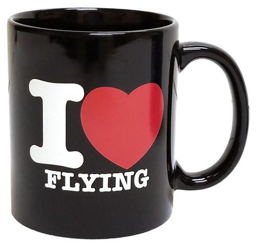 """I Love Flying"" Coffee Mug"