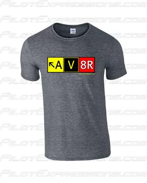 AV8R Taxiway Sign T-Shirt