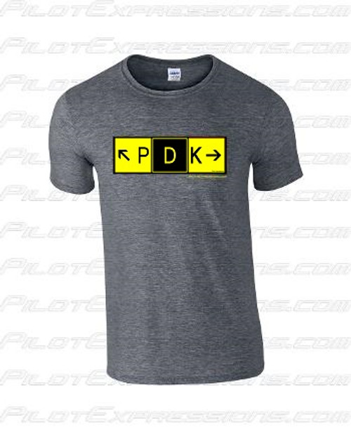 DeKalb Peachtree Airport Taxiway Sign T-Shirt