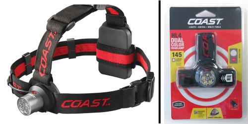 Coast HL4 LED Headlamp - Dual Color