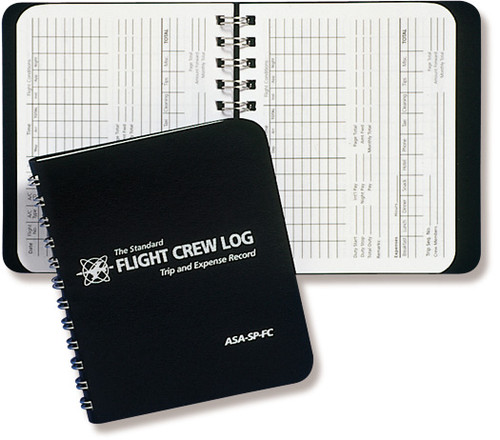 ASA The Standard Flight Crew Logbook