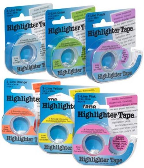 Chart Highlighter Tape