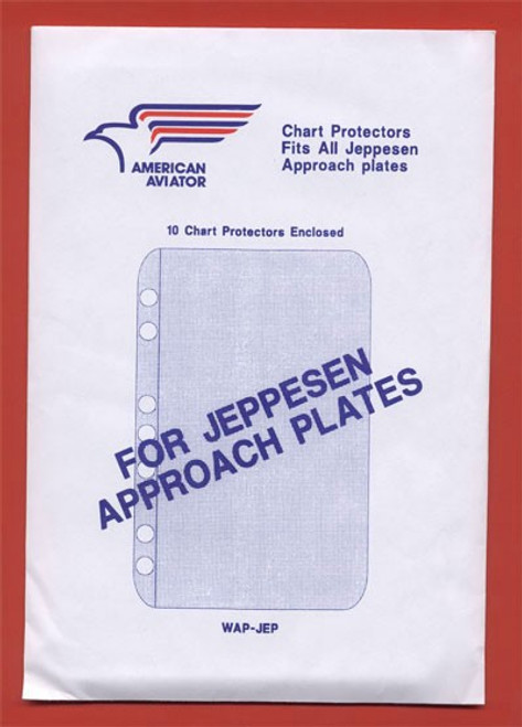 American Aviator Jeppesen Approach Plate Protectors