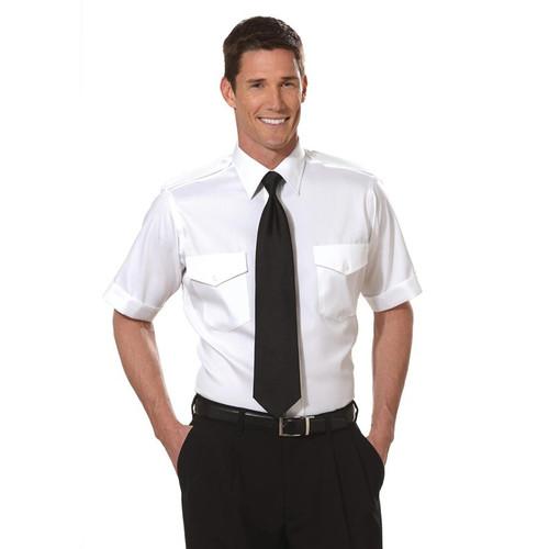 Van Heusen Aviator Short Sleeve Shirt Tall - White