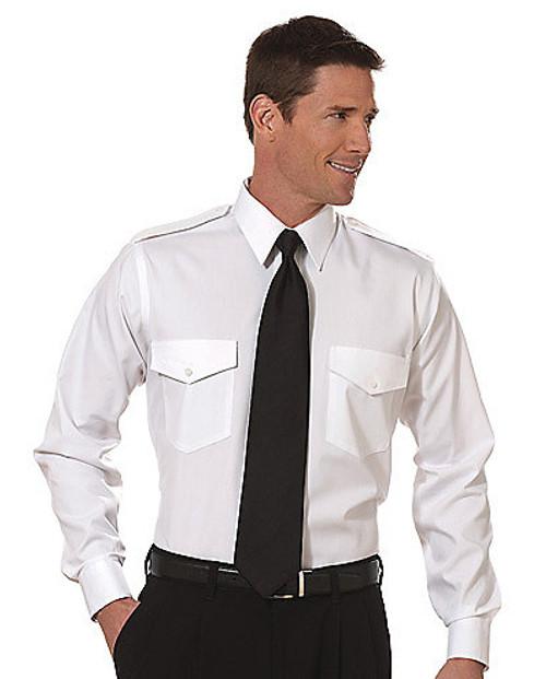 Van Heusen Commander Long Sleeve Shirt - White