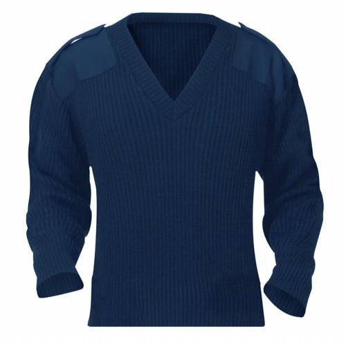 V Neck Crew Sweater