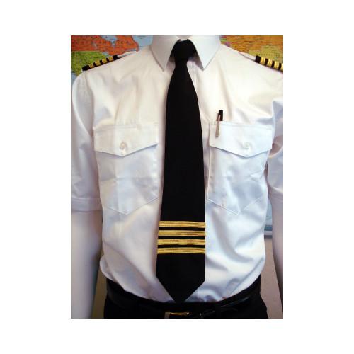 4 Stripe Epaulet Tie