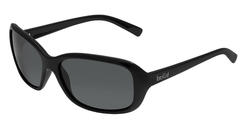 Bolle Molly Sunglasses - Shiny Black, Polarized TNS