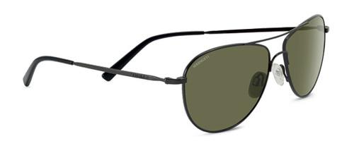 Serengeti Alghero Sunglasses - Dark Gunmetal, Polarized 555NM