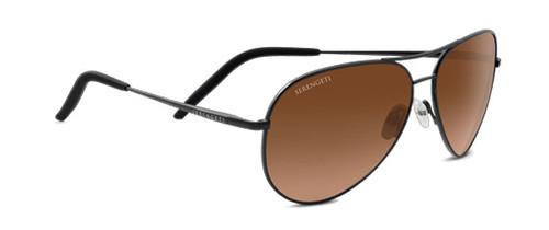 Serengeti Carrara Sunglasses - Dark Gunmetal, Drivers