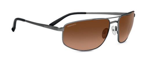 Serengeti Modugno Sunglasses - Shiny Dark Gunmetal, Drivers