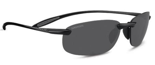 Serengeti Nuvola Sunglasses - Shiny Black, Polar PHD CPG Lenses