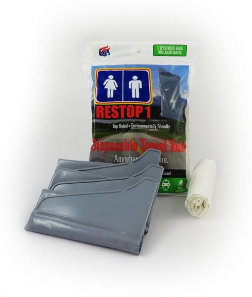 Restop Disposible Travel Toilet 3 Pack