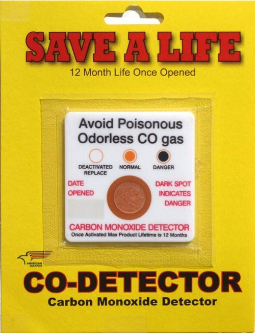 American Aviator Carbon Monoxide Detector