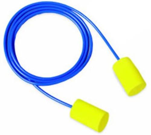 E-A-R Classic Foam Ear Plugs w/ Cord 200 pack box