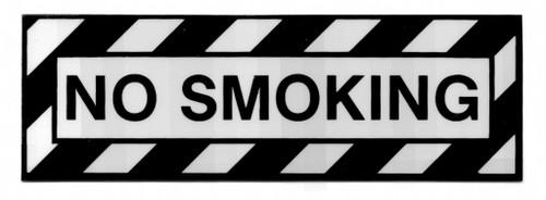 No Smoking Placard