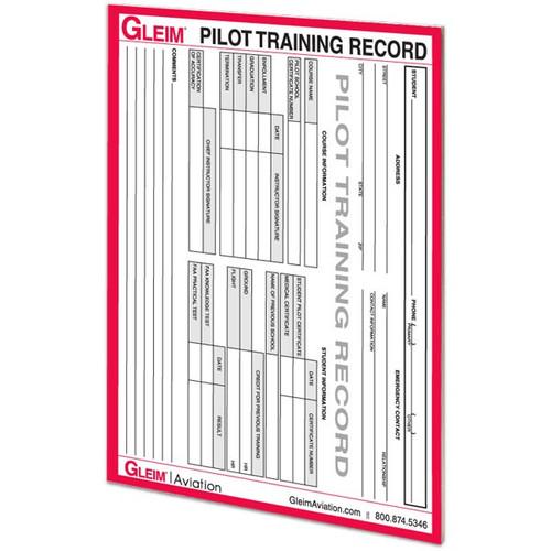 Gleim Commercial Pilot Flight Record