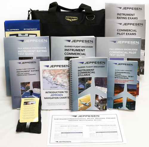 Jeppesen Instrument/Commercial Kit -Part 141