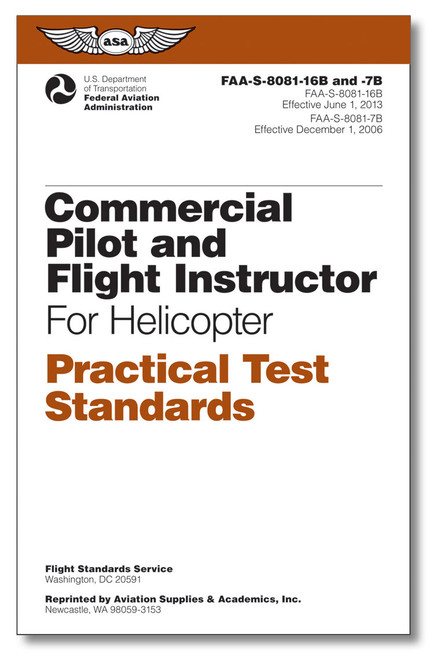 Practical Test Standards - Com/CFI Heli