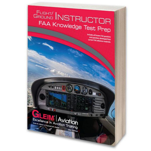 Gleim 2021 Flight/Ground Instructor Knowledge Test Guide