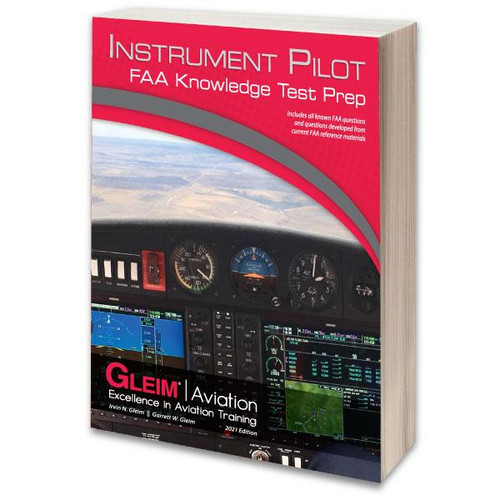 Gleim 2021 Instrument Pilot Knowledge Test Guide