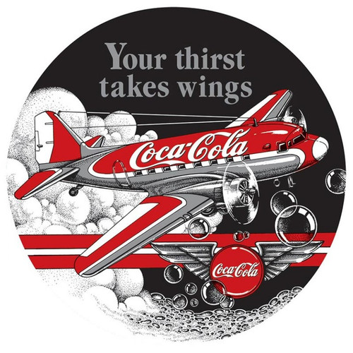 Coca-Cola DC3 Sign