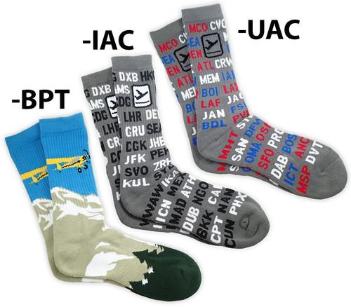 Premium Aviation Crew Socks