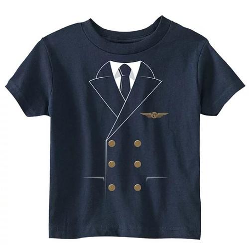 Kid's Pilot Uniform T-Shirt