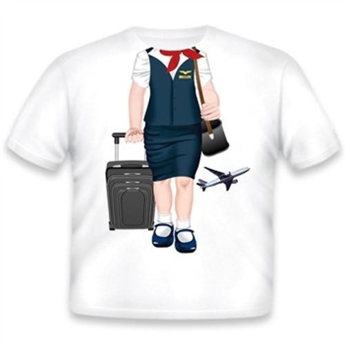 Toddler Flight Attendant T-Shirt